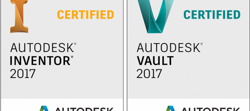 Certified in Autodesk Inventor 2017