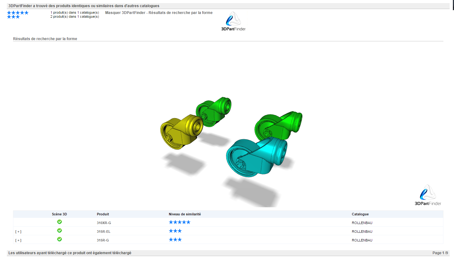 Why we decided to integrate 3DPartFinder Shape-based Search Engine to the TraceParts portal?